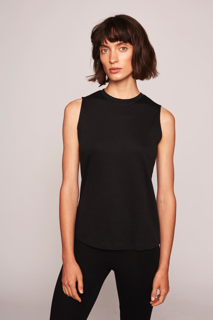 Nicole Sleeveless Top - Black - F5 Concept Store
