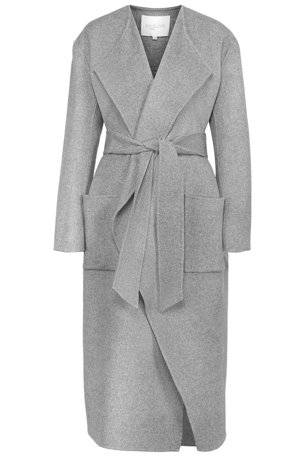 Pisa Coat - Grey Melange