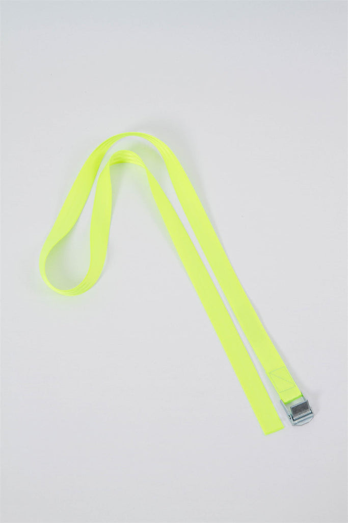 Short Seatbelt Belt - Neon