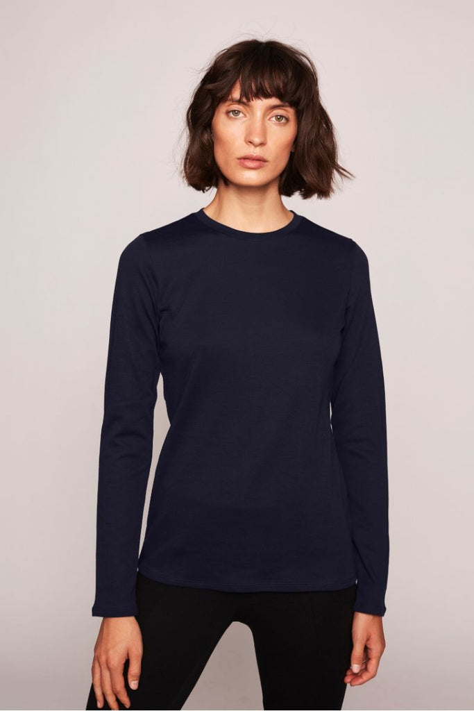 Andrea Longsleeve - Navy - F5 Concept Store