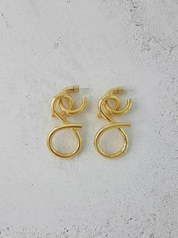 Venezia Earrings - 18K Gold