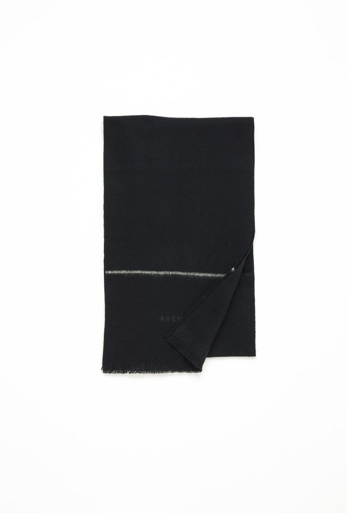 Socotra Wool Scarf - Black - F5 Concept Store
