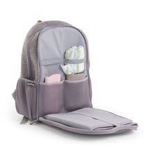 Load image into Gallery viewer, FELT NURSERY BACK PACK GREY
