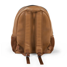 Load image into Gallery viewer, BACKPACK LEATHERLOOK BROWN