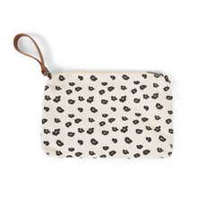 Load image into Gallery viewer, MOMMY CLUTCH CANVAS LEOPARD