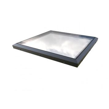 Mardome Flat Roof Window Double Glazed Rooflight Anthracite Grey Frame