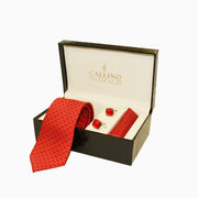Callino London Red Men's Accessories Gift Set