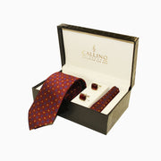 Callino London Rust Men's Accessories Gift Set