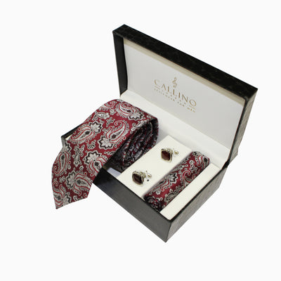 Callino London Wine Men's Accessories Gift Set