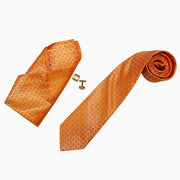 Callino London Orange Men's Accessories Gift Set