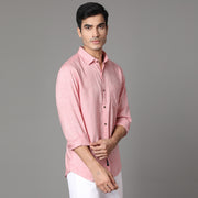Callino London Men's Saffron Fit Casual Cotton Shirt