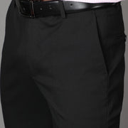 Callino London Men's Black Formal Trouser