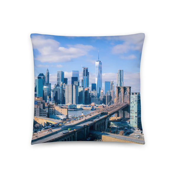 Dreamin' York City Pillow