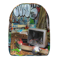 Throw Away Your Television Backpack