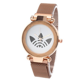 Zegarki damskie Luxury Women Watches 2019 New Rose Gold Steel Dress Wristwatch Fashion Bracelet Quartz Ladies Watch Reloj Mujer
