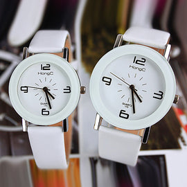 YAZOLE Fashion Quartz Watch Women Watches Ladies Girls Famous Brand Wrist Watch Female Clock Montre Femme Relogio YZL175-White