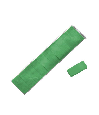 REPLACEMENT ERASERS, GREEN, PACK OF 10
