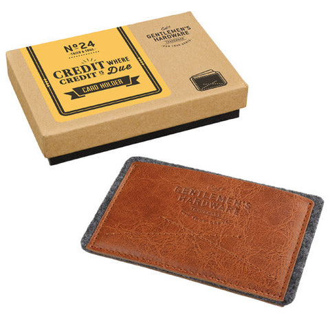 GENT'S HARDWARE CREDIT CARD HOLDER
