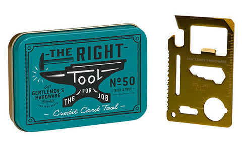 Credit Card Multi Tool - Gent's Hardware
