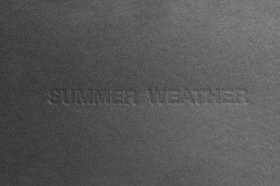 Summer Weather - Photobookstore
