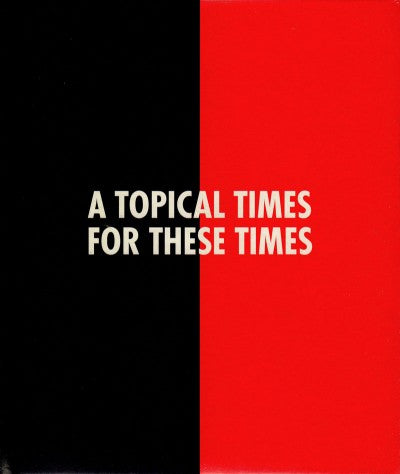 A Topical Times for these Times - Photobookstore