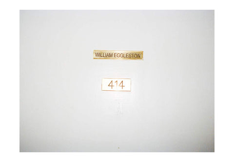 Harmony Korine and Juergen Teller: William Eggleston 414