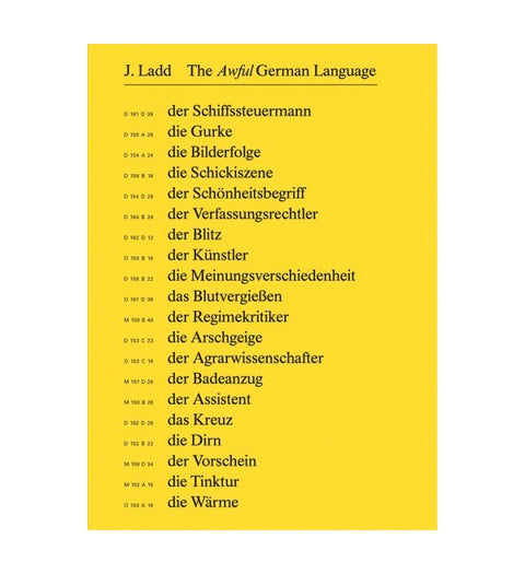 The Awful German Language - Photobookstore