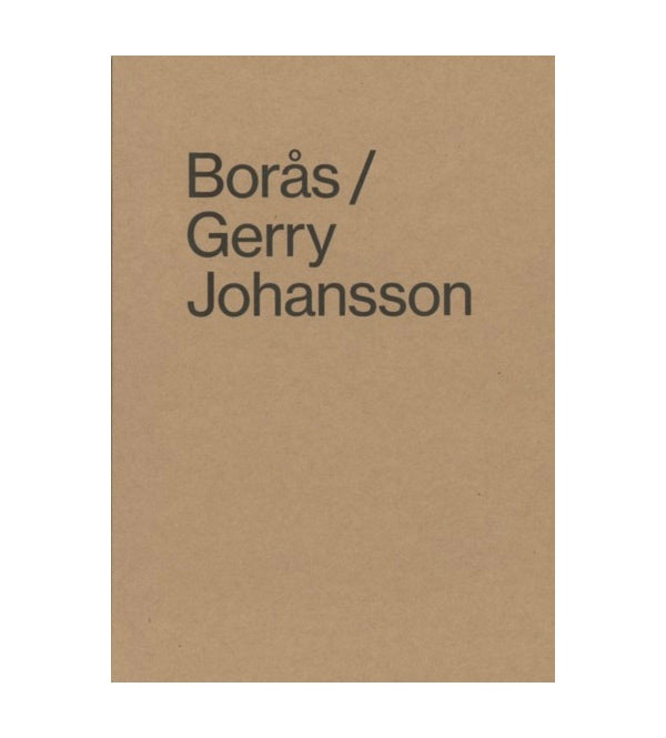 Boras (signed) - Photobookstore