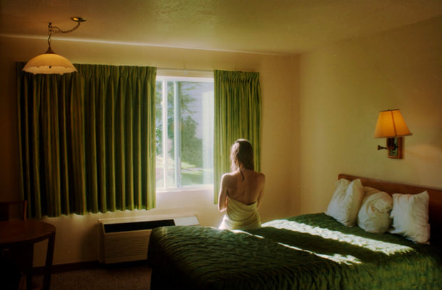 Margaret Durow (with Green Motel print)