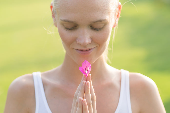 Why Not MEDITATE While You REMOVE the MAKE-UP
