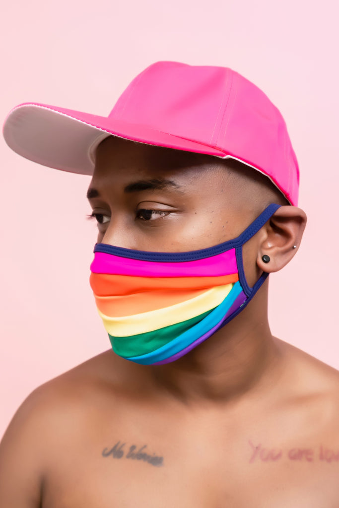 Pride Flag Rainbow Face Cover