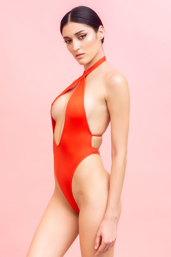 Two way Halter One Piece - COURT