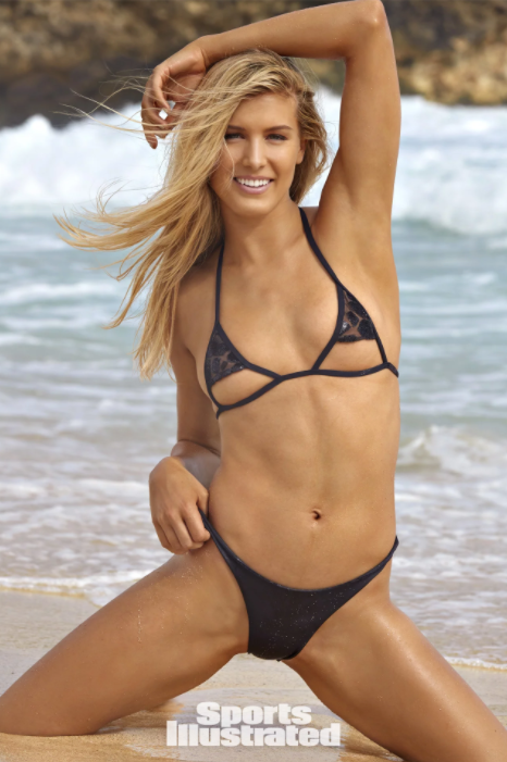 Black Two Piece Bathing Suit - HUNTER