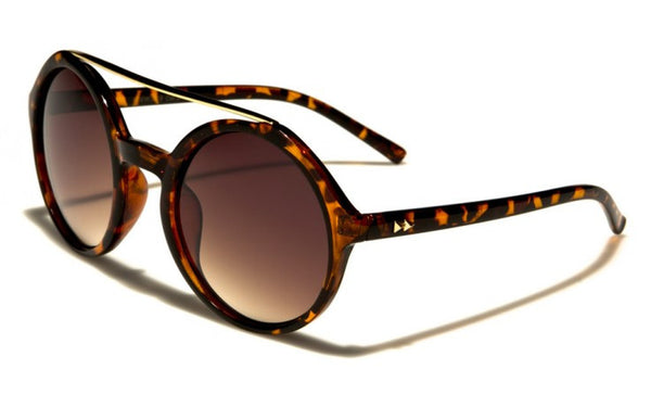 Retro Round Sunglasses -The Farrah AMB