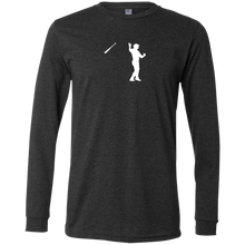 Load image into Gallery viewer, Bush League Bat Flip Men's Jersey LS T-Shirt