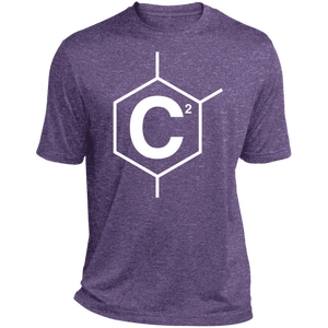 C2 (un)disC2overed Mens Heather Dri-Fit Moisture-Wicking T-Shirt