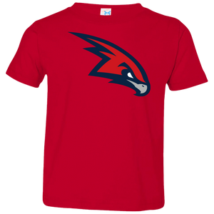RedHawks Logo (mixed)  Toddler Jersey T-Shirt