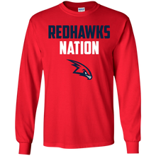 Load image into Gallery viewer, RedHawks Nation Special Youth LS T-Shirt