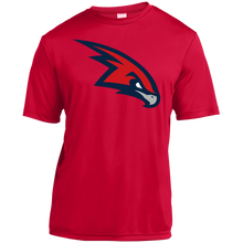 Load image into Gallery viewer, RedHawks Logo (mixed) Youth Moisture-Wicking T-Shirt