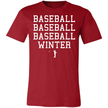 Load image into Gallery viewer, Seasons of Baseball Unisex Jersey Short-Sleeve T-Shirt