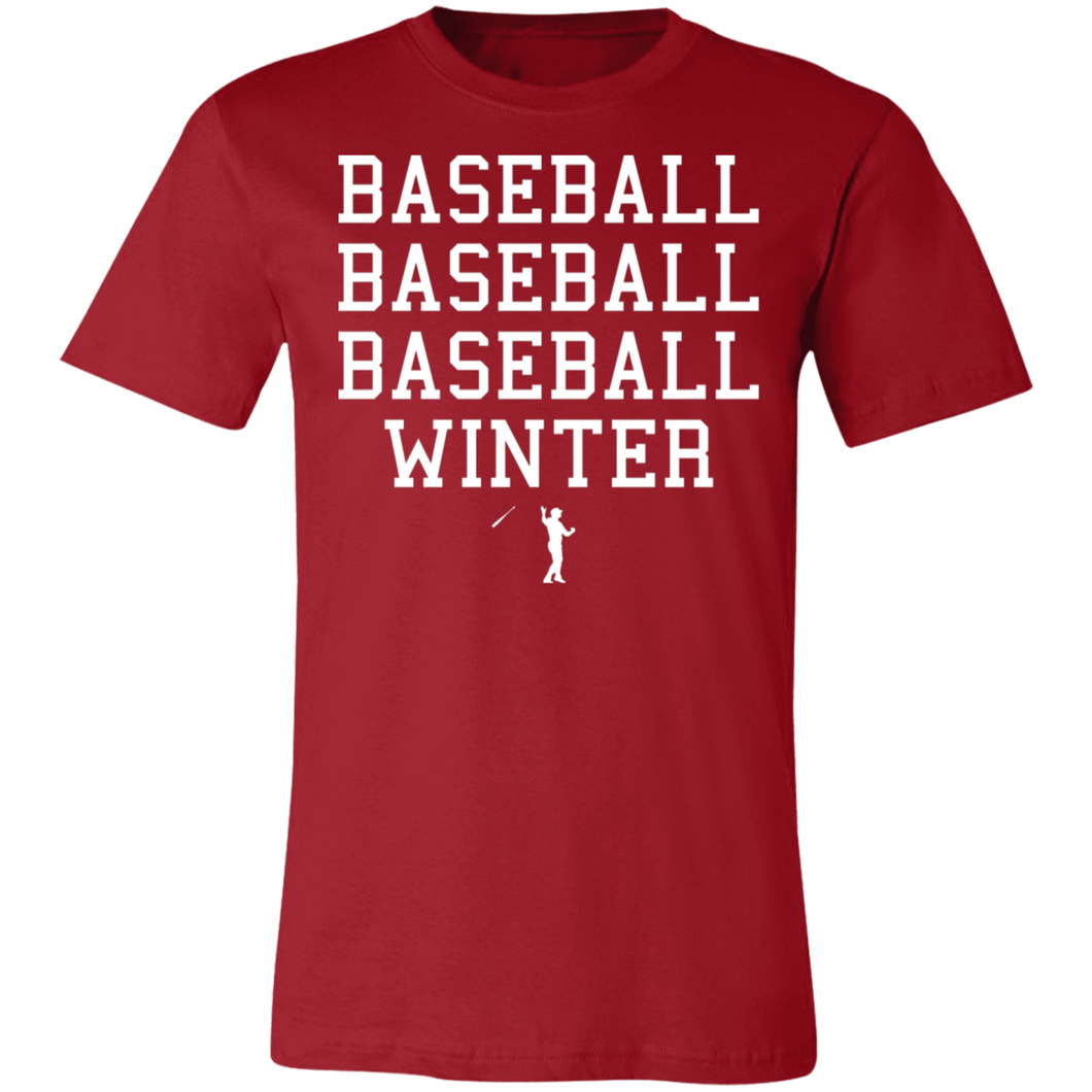 Seasons of Baseball Unisex Jersey Short-Sleeve T-Shirt