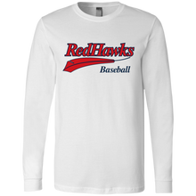 Load image into Gallery viewer, RedHawks Baseball (WM) Men's Jersey LS T-Shirt