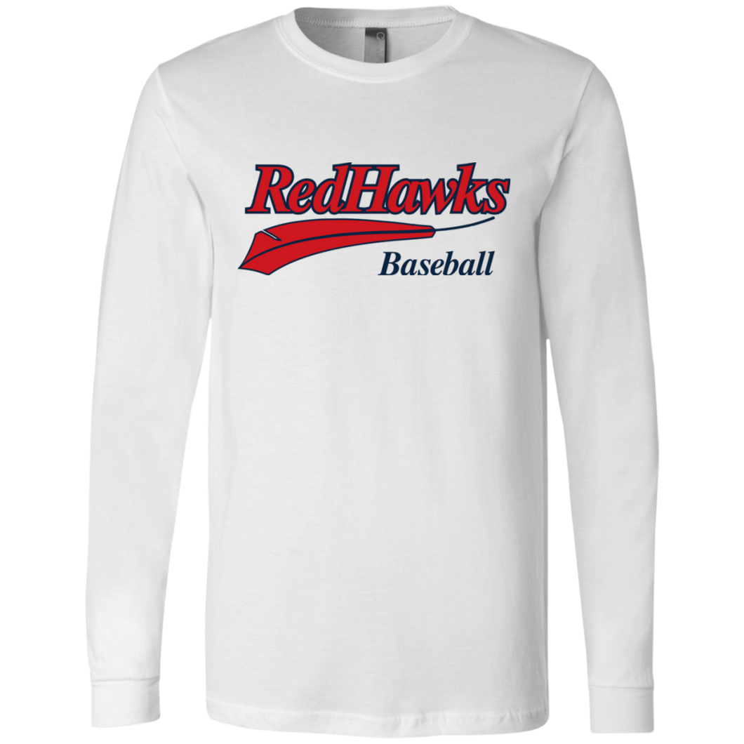 RedHawks Baseball (WM) Men's Jersey LS T-Shirt