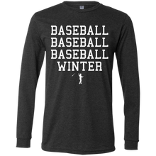 Load image into Gallery viewer, Seasons of Baseball Men's Jersey LS T-Shirt