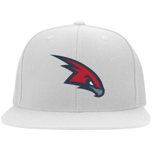 Load image into Gallery viewer, Redhawks Flat Bill Twill Flexfit Cap
