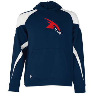 RedHawk Logo (mixed)  Youth Colorblock Hoodie