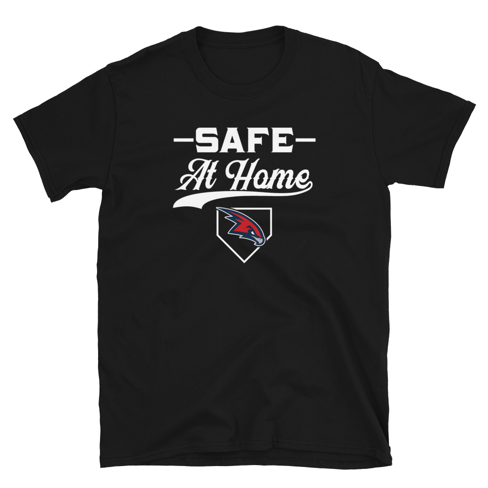 Safe At Home Redhawks Short-Sleeve Unisex T-Shirt