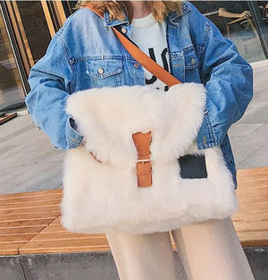 Faux Furry Bag