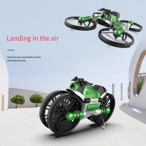 Transforming Motorcycle RC Drone