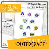 Digital Stickers - Outerspace (Digital Download)